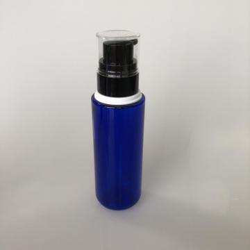 round PET bottle with collar 100ml