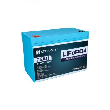 12.8V75AH  LiFePO4 Battery Replace Lead Acid Battery