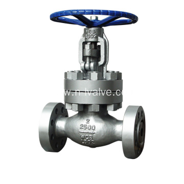 High Pressure Bolt Bonnet Globe Valve