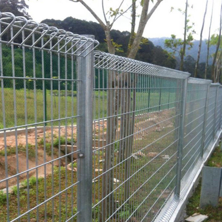 powder coated welded iron wire BRC garden fence
