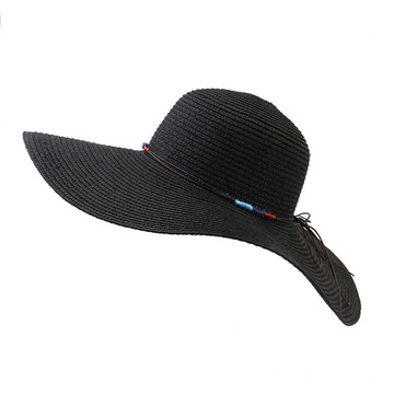 Seaside jam plain type cover wholesale straw hat