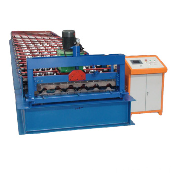 Galvanized Metal Sheet Roof Tile Roll Forming Machine