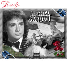 5d diy Diamond Painting Cross Stitch Michel Sardou,Singer,Canvas Painting,Full square Diamond Embroidery,diamond Mosaic stickers