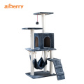 High Quality Wood Cat Scratch Climbing Tower