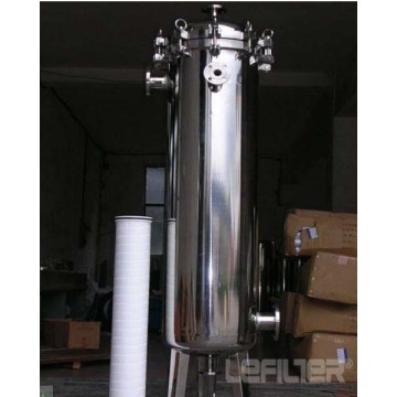 Carbon steel/304 large-flow security water filter housing