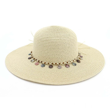 Suitable size bucket straw hat summer hat