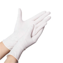 Latex examination gloves powder free or powdered