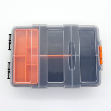 1 PCS Plastic Parts Combined Transparent Tool Case Screw Containers Component Storage Case Hardware accessories tool box