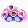 2016 Popular Frozen Girls Silicone Quartz Watches