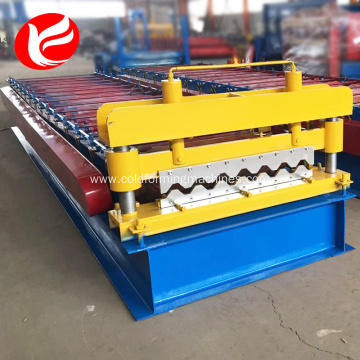 Metal roof and wall floor panel making machine