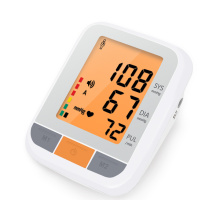 arm type blood pressure monitor with desk type