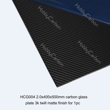 High Modulus 3k 4mm Carbon Fiber Plate