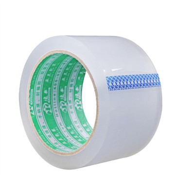 Transparent tape with acrylic water based adhesive