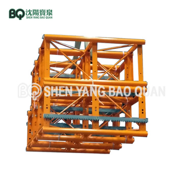 BQ Painting Type Construction Hoist Mast Section SC200