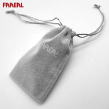 FAAEAL High Quality Soft Velvet pouch bag case for Earphone Earbuds MP4 MP3 Play Mobile Phone Power Bank Key Free Shipping