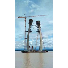 Tower crane with strong balance