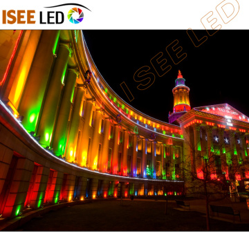Architectural Building Facade Flood Lighting