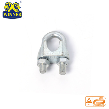 Small Metal Stainless Steel Straight Steel Wire Rope Clip