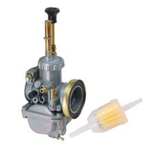 Carburetor 20MM Replacement + Fuel Filter Fits for Kawasaki KE100 KM100