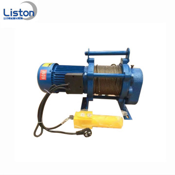 High Efficiency Mini Portable Electric Winch Save Space