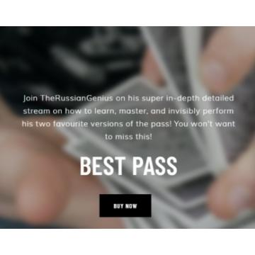 Best Pass By The Russian Genius -- magic tricks