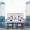 Mini HZS90 concrete batching plant machine for sale