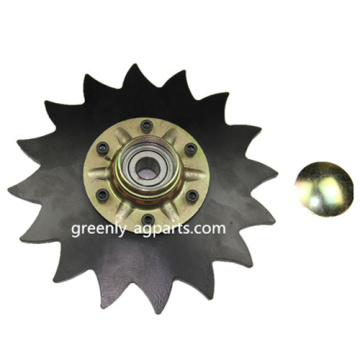 "G6000 8"" Notched Covering Disc for John Deere"