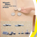 PTFE Wizard sliders with adhesive