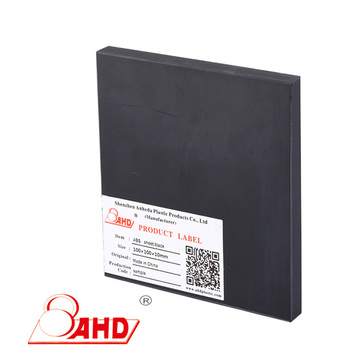 Extruded Black ABS Plastic Sheet