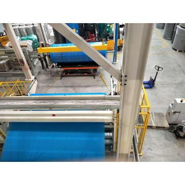 spunbond nonwoven fabric making machine with different width