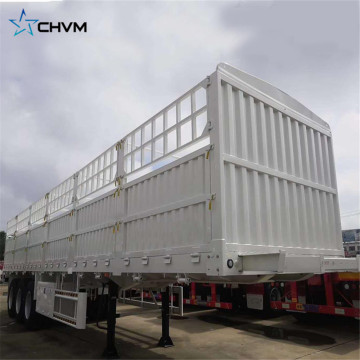 3 Axles Heavy Transport Cargo Transport Semi-trailer 13m Length High Side Fence Semi Trailer