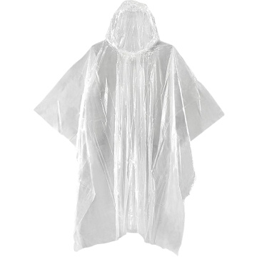Eco friendly biodegradable corn starch PLA rain poncho