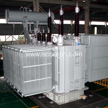 20MVA 132/11kv oil immersed power transformer