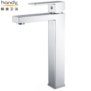 Square Type Above Counter Basin Mixer Taps