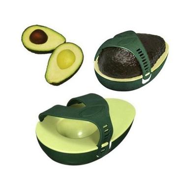 Avocado Savers Food Storage Box Crisper Plastic Vegetable Fruits Containers