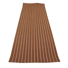 Light Brown & White Marine EVA Boat Flooring