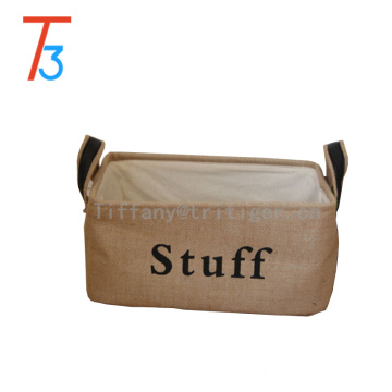 Customized Foldable storge box wholesale storage basket fabric Storage Basket