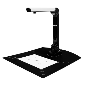 A4 Visual Presenter Definition Speed Bank Office Book Fast HD Portable File Painting Document Continuous Photographer Scanner
