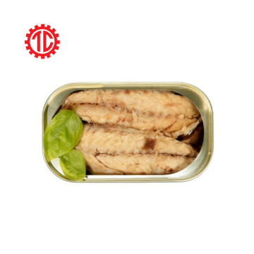 Canned Mackerel Loins In Oil Club Can 125G