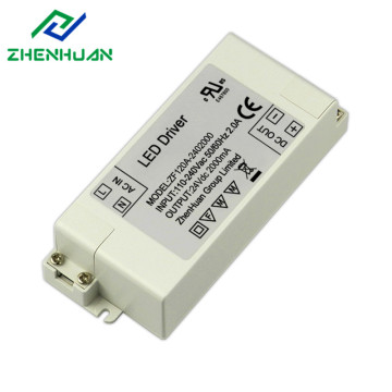 48W 24VDC 2A Single Output LED napájení