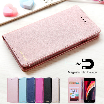 For iphone SE 2020 Case Leather Luxury Phone Case On iphone SE 2 SE2 Case Flip Magnetic Wallet Cover For iphone SE 2020 Case Bag