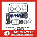 Cummins Lower Head Gasket Set 4955357​