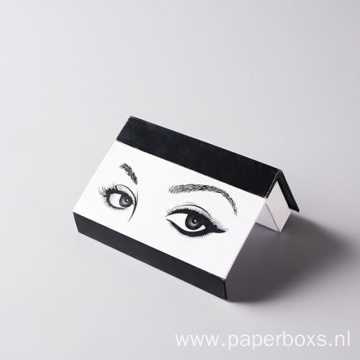 Custom Private Label Cosmetic Eyelash Packaging Box