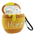 3D Cute Funny Honey Pot Silicone Airpods Case