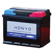 DIN55MF Maintenance Free batteries