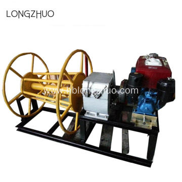 Shafted Driven Diesel Powered Pulling Cable Winch