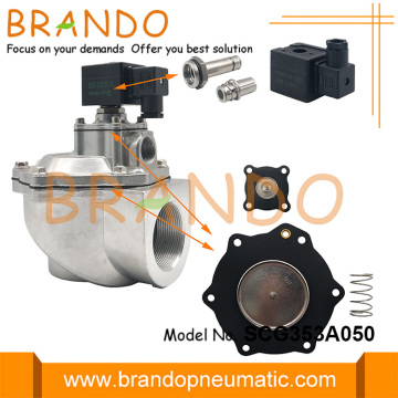 2'' SCG353A050 Right Angle Diaphragm Pulse Jet Valve