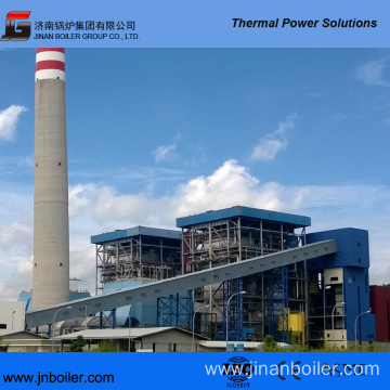 420 T/H Pakistan Local Coal Fired CFB Boiler