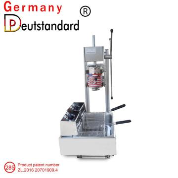 electric churros maker with 3L and 12L fryer in factory NP-285