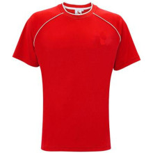 Rood polyester voetbalshirt